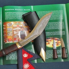 Super Mini Jungle Khukuri Engraved