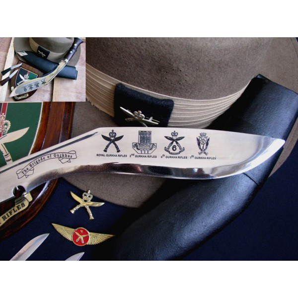 Gurkha Badge Kukri