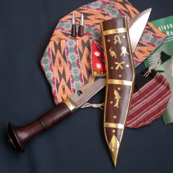 "9"" Dhankute wooden handle"