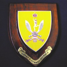 RGR (Royal Gurkha Rifles) Plaque